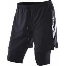 2XU Compression X Run Short Black/Black