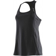 2XU Performance Run Singlet Zwart