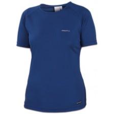 Craft Active Run Tee Women Blauw