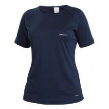 Craft Active Run Tee Women Donker Blauw