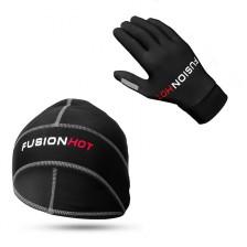 Fusion hardloop handschoenen & hardloopmuts