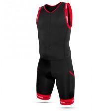 Fusion Multisport trisuit zwart-rood