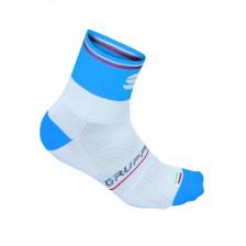 Sportful Gruppetto Pro 12 fietssokken wit-blauw