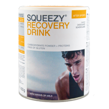 Squeezy Recovery Drink 400 gr. Choco