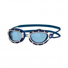 Zoggs Predator wit-blauw zwembril