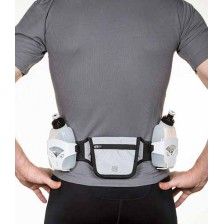 Run & Move Flask Belt PERFORMER 3.0 zwart-wit drinkgordel